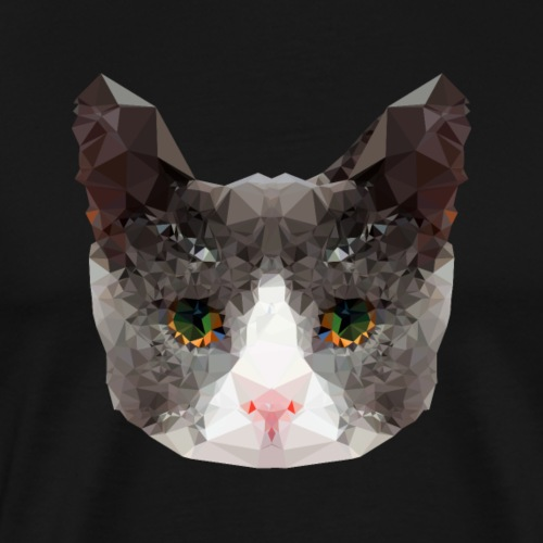 Triangle Cat - Men's Premium T-Shirt