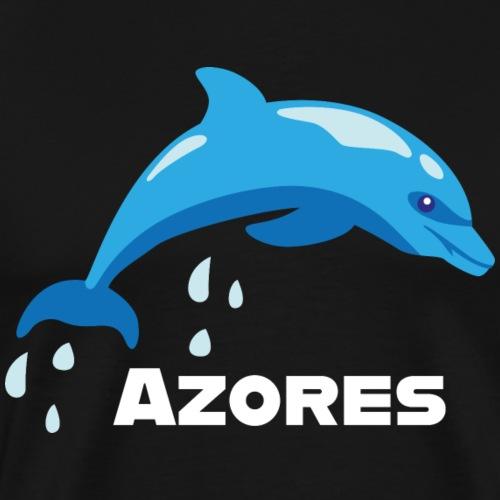 Azores Delphin Delfin Azoren Portugal Meerestier