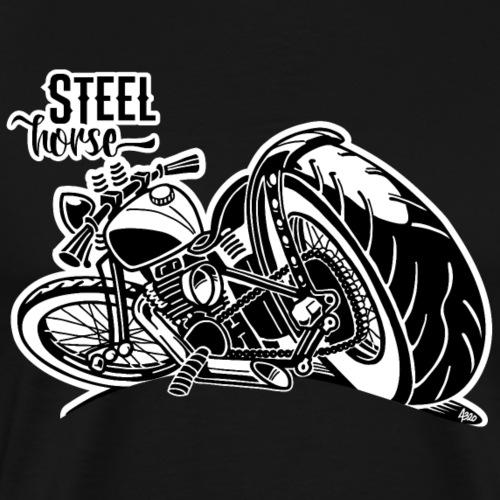0894 STEEL HORSE - Mannen Premium T-shirt