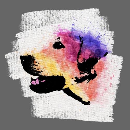 Labrador Aquarell - Männer Premium T-Shirt