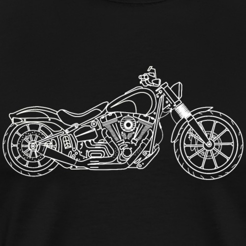 Stijlvolle moto - T-shirt Premium Homme