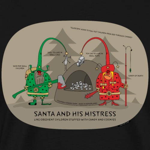 VJocys Santa Green - Men's Premium T-Shirt
