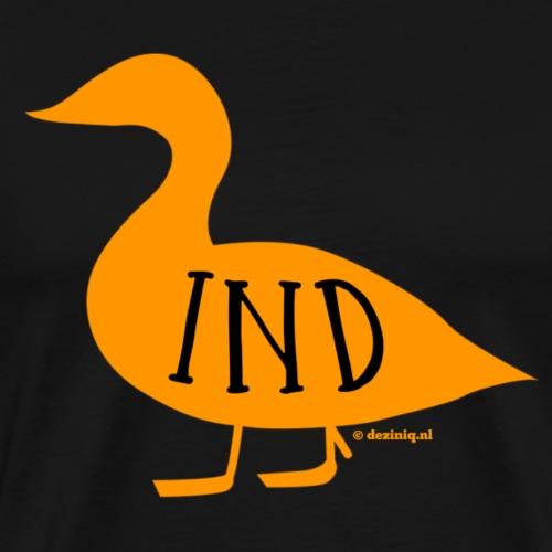 Ind - Mannen Premium T-shirt