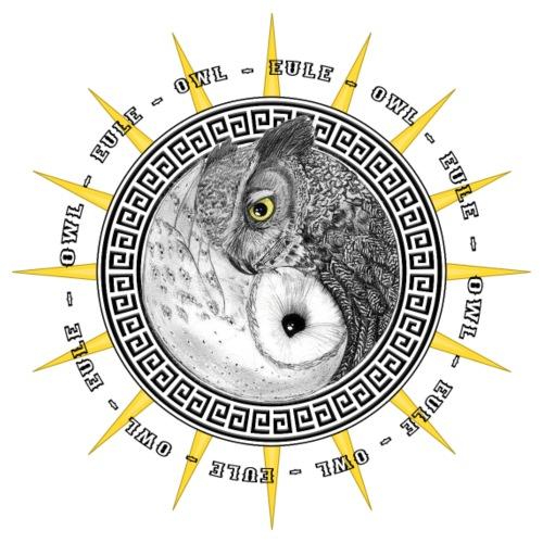 EULE OWL Yin Yang