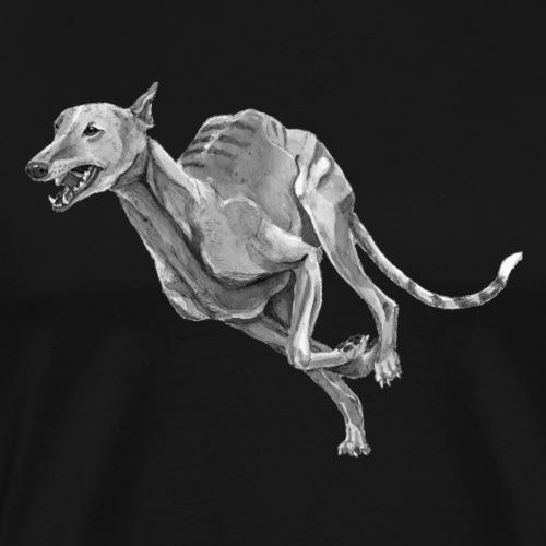 Greyhound - Herre premium T-shirt