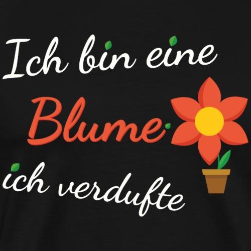 Blume Garten Gärtner Florist Shirt Geschenk - Männer Premium T-Shirt