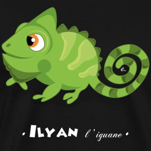 Ilyan l'iguane - T-shirt Premium Homme