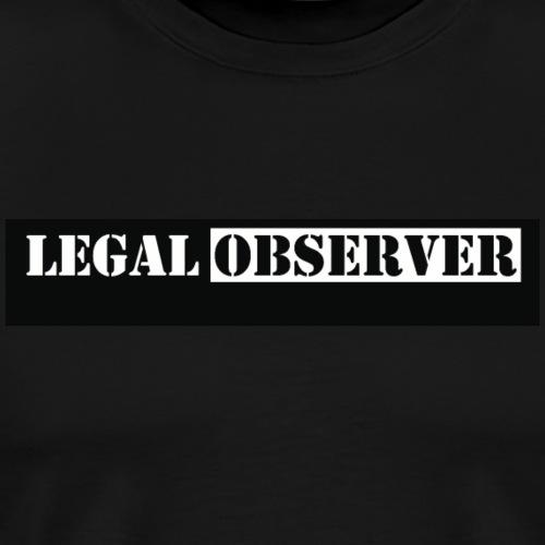 Legal Observer - Men's Premium T-Shirt