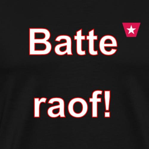 Batteraof vert w - Mannen Premium T-shirt
