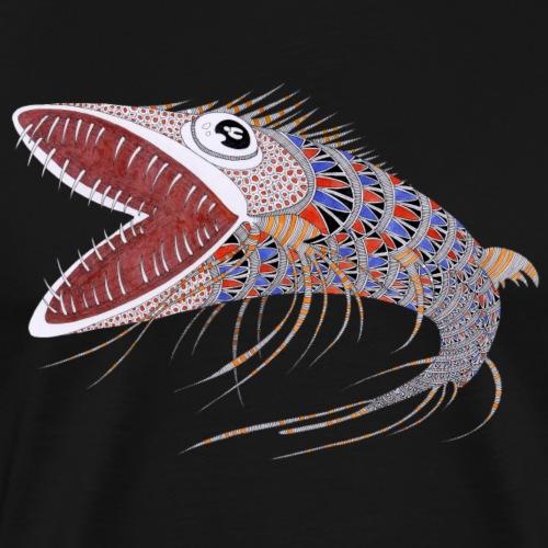 Shark fish - Maglietta Premium da uomo