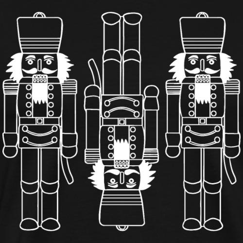 3 casse-noisettes - T-shirt Premium Homme