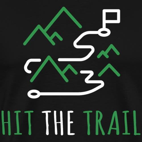 Trailrunning Traillauf Jogging Shirt Geschenk - Männer Premium T-Shirt
