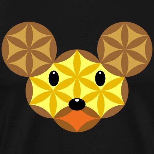 Mouse Of Life - Sacred Animals, M-01 - Men's Premium T-Shirt
