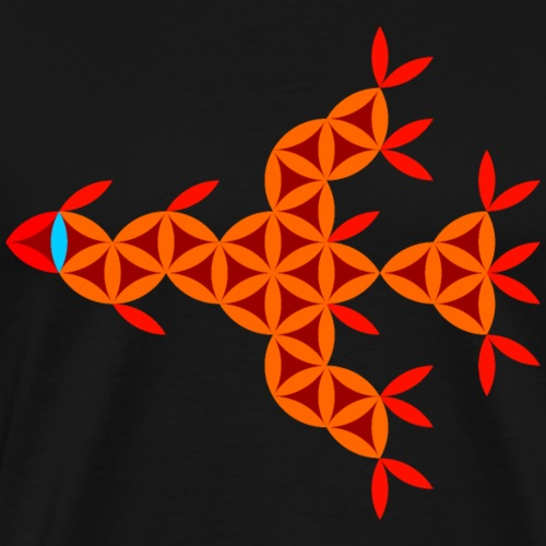 The Dragon Of Life - Sacred World - Men's Premium T-Shirt