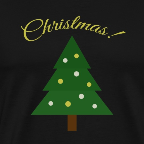 Christmas Tree X-mas - Men's Premium T-Shirt