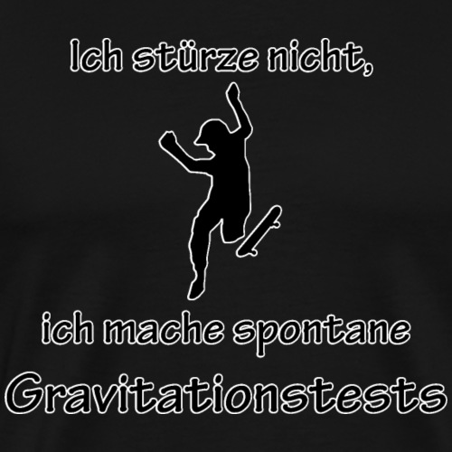 Gravitationstests - Männer Premium T-Shirt