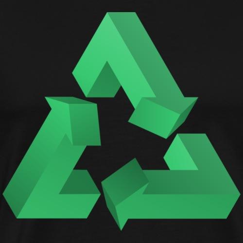 recycle green - Männer Premium T-Shirt