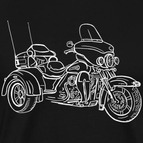 Vélo de tricycle - T-shirt Premium Homme