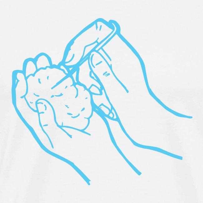 Handarbeiten Nadelfilzen Hände Geschenkidee Lustig
