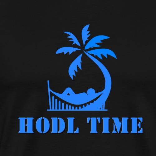 HODL time - Men's Premium T-Shirt