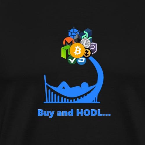 Buy and HODL - Men's Premium T-Shirt