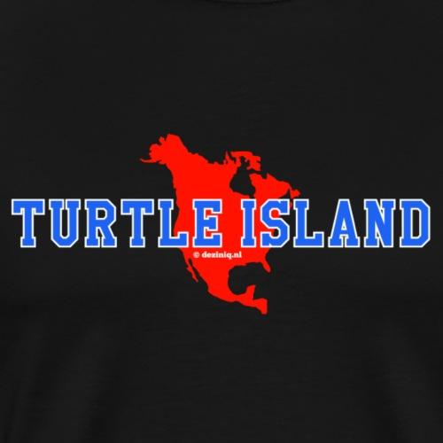 Turtle Island - Mannen Premium T-shirt