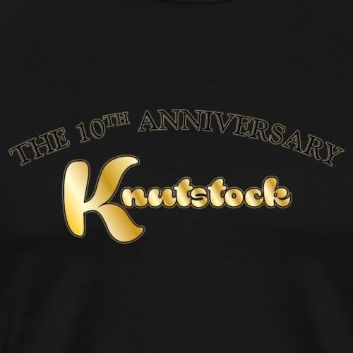 KnutstockAnniversaryLogo Text - Männer Premium T-Shirt