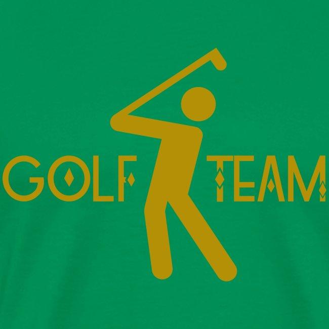 Golfer Team Sport Hobby Golfspielerin Golfball