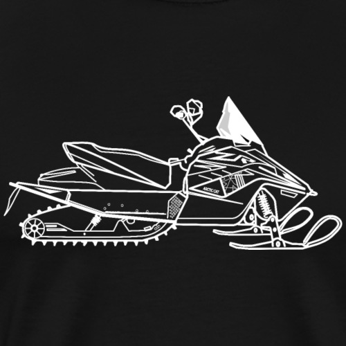 Motoneige Arctic Cat ZR 200 - T-shirt Premium Homme