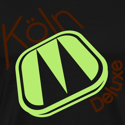 Köln Deluxe Logo - Männer Premium T-Shirt