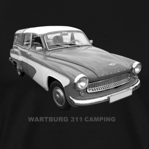 Wartburg 311 Camping DDR AWE Eisenach - Männer Premium T-Shirt