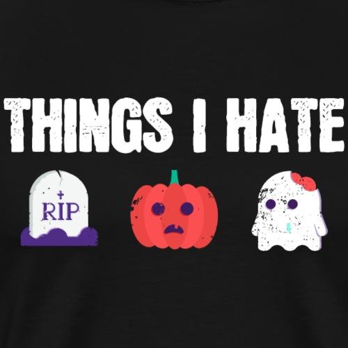 Fuck Halloween Gegen Nein Anti Shirt - Männer Premium T-Shirt