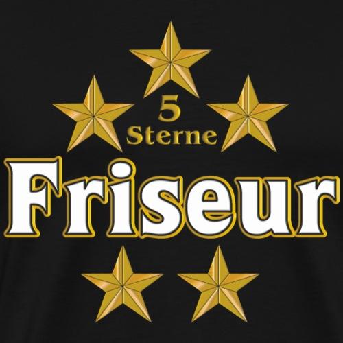 Vom Grafik Designer--Friseur - Männer Premium T-Shirt
