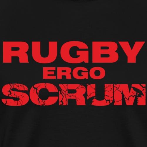 Marplo Rugbyergoscrum red - Maglietta Premium da uomo