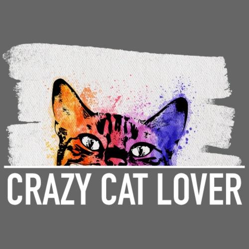Katze in Aquarell - Männer Premium T-Shirt