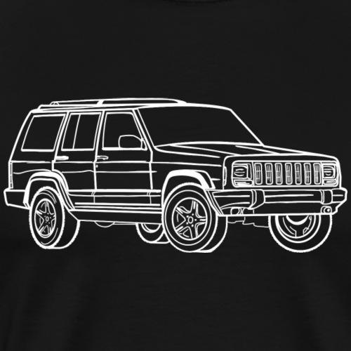 Jeep Cherokee - T-shirt Premium Homme