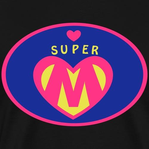 Super Mama Geschenk - Männer Premium T-Shirt