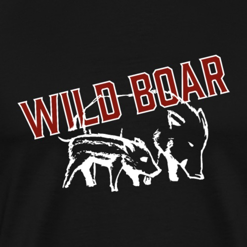 WILD BOAR - Männer Premium T-Shirt