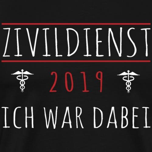 Zivildienst Zivildiener 2019 Shirt Geschenk - Männer Premium T-Shirt