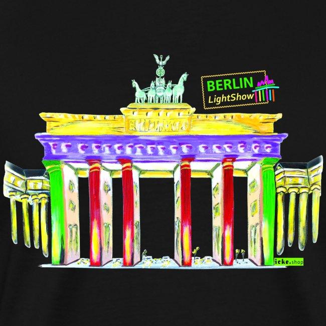 """Berliner """"Brandenburger Tor"""" PopArt BLS Design"""