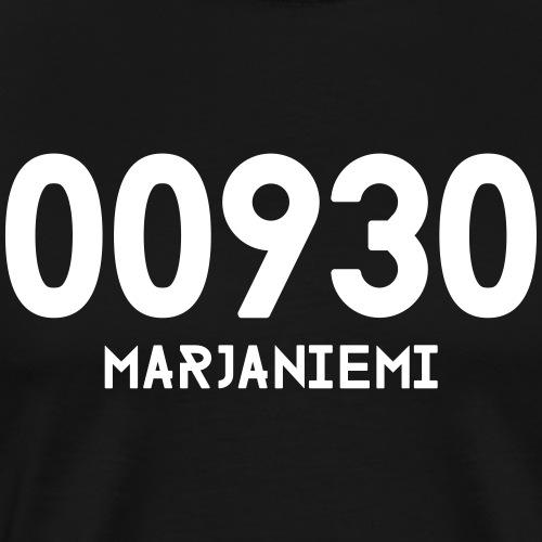 00930 MARJANIEMI - Miesten premium t-paita