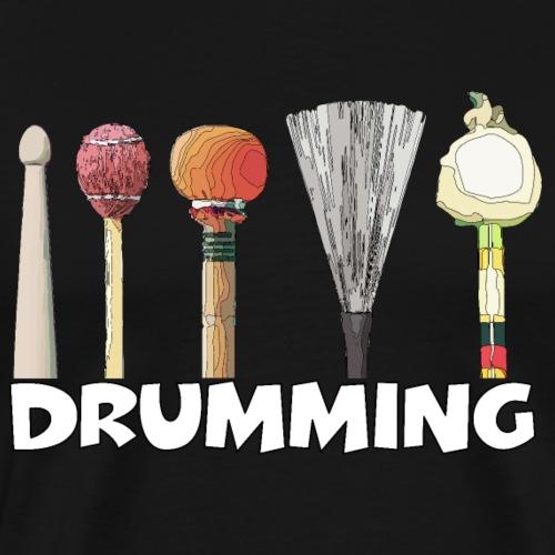 Drumming - Männer Premium T-Shirt