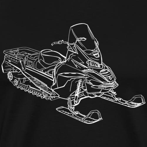 motoneige - T-shirt Premium Homme