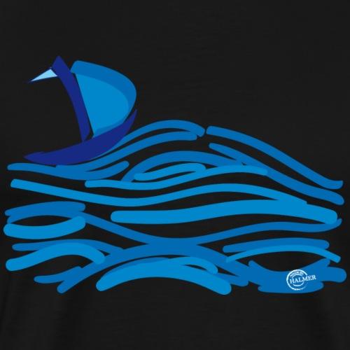 Segelschiff Meer - Männer Premium T-Shirt