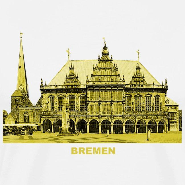 Bremen Rathaus Roland Hansestadt Deutschland
