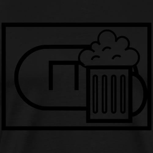Panzerbieonier Bundeswehr taktisches Zeichen - Männer Premium T-Shirt
