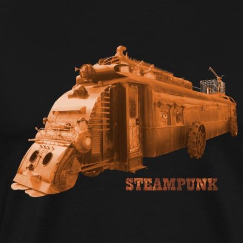 Steampunk Lokomotive Oamaru Neuseeland - Männer Premium T-Shirt