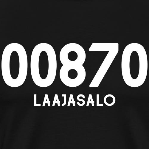 00870 LAAJASALO - Miesten premium t-paita