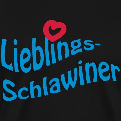 Lieblings-Schlawiner - Männer Premium T-Shirt