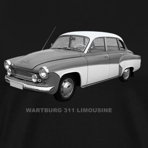 Wartburg 311 Limo DDR Eisenach AWE - Männer Premium T-Shirt
